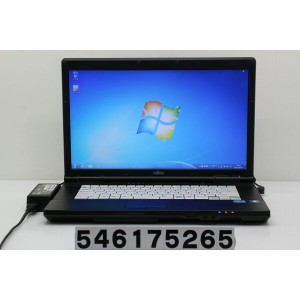 富士通 LIFEBOOK A561/D Core i3 2330M 2.2GHz/4GB/250GB/DVD/15.6W/FWXGA(1366x768)/Win7【中古】【20170616】