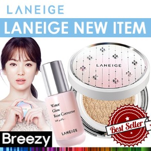BREEZY ★ [LANEIGE] Water Glow Base Corrector / BB Cushion_Pore Control /Whitening from Swar