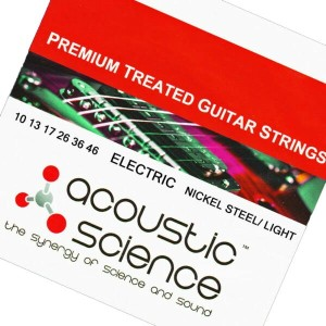 Acoustic Science LACSEG1046 Nickel Light エレキギター弦