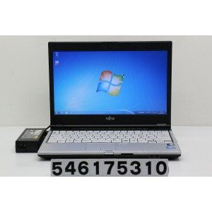 富士通 LIFEBOOK S560/A Core i3 M350 2.26GHz/2GB/160GB/13.3W/FWXGA(1366x768)/Win7【中古】【20170620】