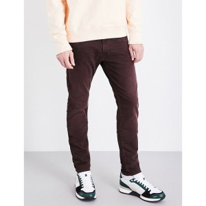 リプレイ replay メンズ ボトムス スキニー【anbass colours slim-fit skinny jeans】Burgundy