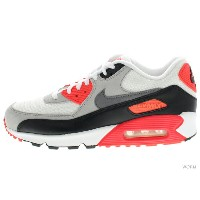 【US9.5】NIKE AIR MAX 90 OG 725233-106 white/cool grey-ntrl grey-blk エア マックス 未使用品【中古】