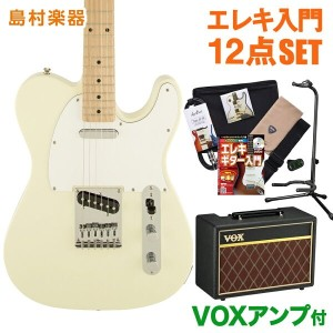 Squier by Fender Affinity Telecaster AWT(アークティックホワイト) エレキギター 初心者 セット VOXアンプ テレキャスター 【スクワイヤー by...