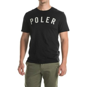 ポーラー Poler メンズ トップス Tシャツ【State T-Shirt - Short Sleeve 】Black