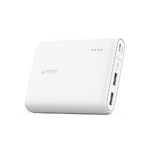 Anker PowerCore 13000 (13000mAh 2ポート 大容量 モバイルバッテリー) iPhone&Android対応 A1215021