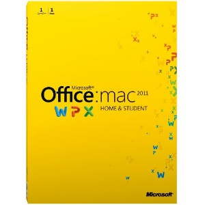 Microsoft Office for Mac Home and Student 2011-1パック [パッケージ]