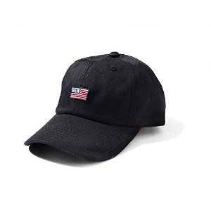 BEN DAVIS ORIGINAL LOW CAP (FLAG_BK)