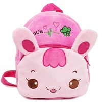 Zhhlinyuan Baby Children Cute Cartoon Plush Kindergarten Backpack School バッグ Kids Shoulder バッグ