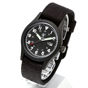 [Smith & Wesson]スミス&ウェッソン ミリタリー腕時計 MILITARY WATCH BLACK SWW-1464-BK [正規品]