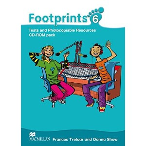 Footprints 6 CD-ROM Pack: Tests and Photocopiable Resources / CD-ROM Pack (1 Audio-CD + 1 CD-ROM)