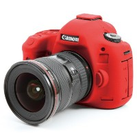 DISCOVERED イージーカバー Canon EOS 5DS / 5Ds R / 5D Mark3 用 液晶保護フィルム &スクリーンプロテクター付 レッド 5D3-RE
