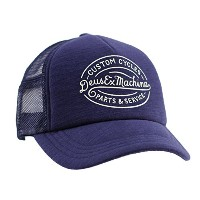 (デウス) Deus ex Machina キャップ メンズ MIKE TRUCKER - DMP77371 NAVY