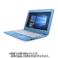 HP 11.6型ノートPC[Win10 Home・Celeron・eMMC 32GB・メモリ 4GB] HP Stream 11-y004TU アクアブルー Y4G19PA-AAAA ...
