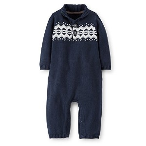 Carter's (カーターズ) :: ロンパース カバーオール 長袖 綿100% :: Knitted Coverall Jumpsuit :: 6M (61-67cm) :: 61-67 cm ...