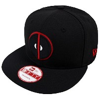 New Era Deadpool Black Marvel Comics Snapback Cap 9fifty Limited Edition