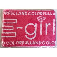 E-girls LIVE TOUR 2014 COLORFUL LAND マフラータオル EXILE TRIBE STATION