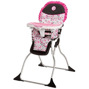 Disney Simple Fold Plus High Chair, Garden Delight, Minnie by Disney [並行輸入品]