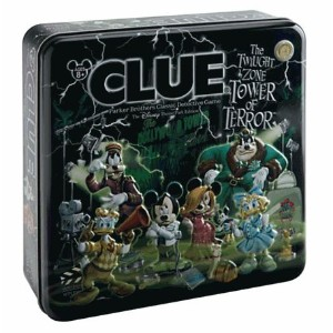 Disney(ディズニー) Clue® The Twilight Zone Tower of Terror™ Disney Theme Park Edition Game トワイライトゾーンタワー...