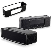 Bose SoundLink mini2 レザーカバー 保護カバー For Mini Bose Soundlink Bluetooth Speaker2 スピーカーに専用 ブラック