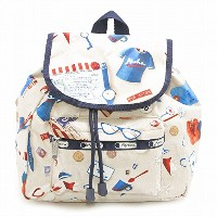 LeSportsac レスポートサック リュック 9808 SMALL EDIE BACKPACK D857 Secret Vacation [並行輸入商品]
