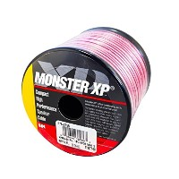 モンスターケーブル スピーカーケーブル 30フィート (約9m) MONSTER CABLE XP Compact High Performance Clear Jacket Speaker Wire