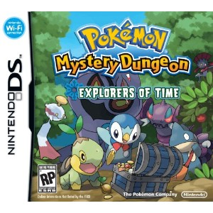 Pokemon Mystery Dungeon: Explorers of Time (輸入版)