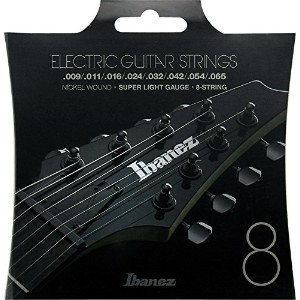 Ibanez Nickel Wound for Electric Guitars 8-Strings/Super Light 09-65 [IEGS8]