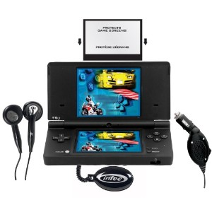 DSi Starter Kit 4 pack- Black (輸入版)