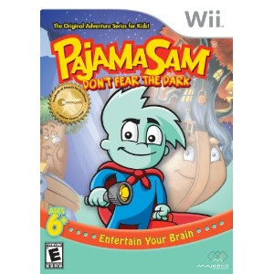 Pajama Sam in Don't Fear the Dark / Game