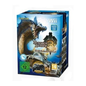 Monster Hunter Tri with Classic Controller Pro (Wii)