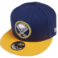 New Era NHL Buffalo Sabres Team Colour Snapback Cap Kappe 9fifty 950 Basecap Men