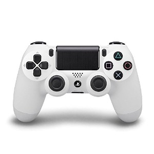 PlayStation 4 Dualshock 4 Wireless Controller (Glacier White) (輸入版)