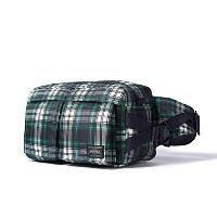 (ヘッド・ポーター) HEADPORTER HIGHLAND WAIST BAG GREEN/WHITE