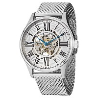 [ストゥーリングオリジナル] Stuhrling Original 腕時計 Men's Atrium Elite Automatic Skeleton Stainless Steel Watch...