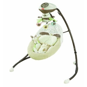 Fisher-Price フィッシャープライス CCF38 Cradle 'n Swing with Smart Swing Technology 電動ゆりかご 【並行輸入品】