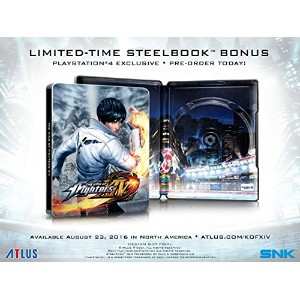 The King of Fighters XIV: SteelBook Launch Edition - PlayStation 並行輸入 [並行輸入品]