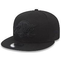 New Era NBA Cleveland Cavaliers Snapback Black On Black Cap 9fifty 950 S/M S M