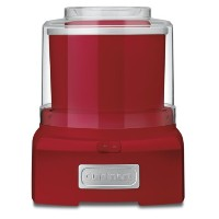 Cuisinart ICE-21R Frozen Yogurt, Ice Cream & Sorbet Maker, Red by Cuisinart [並行輸入品]