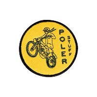 POLeR(ポーラー) MOTO 1 IRON-ON PATCHES 506078 GOLD