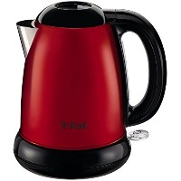 T-fal KI160US 1500-Watt Brushed Stainless Steel Electric Kettle with Removable Limescale, 1.7-Liter...