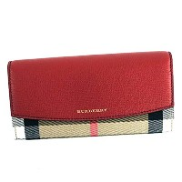 BURBERRY(バーバリー)長財布RED3975327PORTERRUSSETRED