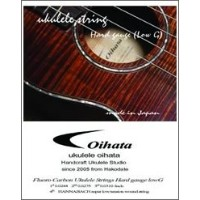 Oihata Ukulele Strings ハードゲージ Low-G Set