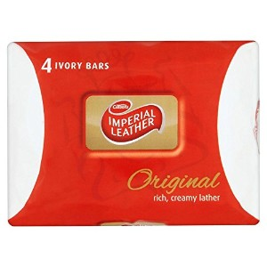 Imperial Leather Original Soap (4x100g) 皇室の革本来の石鹸( 4X100G )