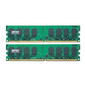BUFFALO D2/667-512MX2 DDR2 SDRAM(PC2-5300)DIMM