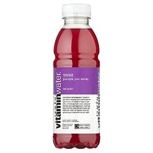 Glaceau Vitamin Water Revive Fruit Punch (500ml) フルーツポンチを復活させるグラソービタミンウォーター( 500ミリリットル)