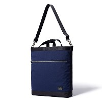(ヘッド・ポーター) HEADPORTER SAVILLE 2WAY TOTE BAG NAVY