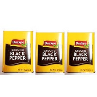 durkee Ground black pepper  ブラックペッパー 胡椒 コショウ 56g×3個セット