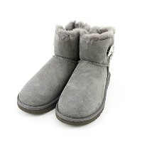 (アグオーストラリア) UGG Australia MINI BAILEY BUTTON BLING (LADYS) [1003889] GREY 23.0