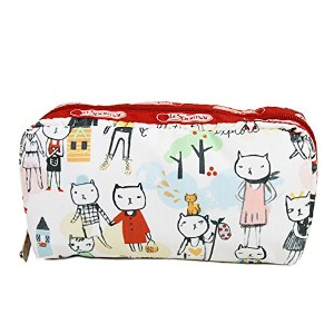 (レスポートサック)LeSportsac Rectangular Cosmetic ポーチ[6511] D370:Hiking Day Red [並行輸入品]
