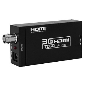 Eleview mini 3G SDI to HDMI コンバーター 3G-SDI/HD-SDI/SD-SDI to HDMI変換器 sdi hdmi 変換 sdi-hd 変換 1080P...